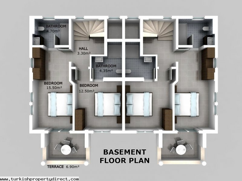 Hisar Apartments Hisaronu 1st Floor Duplex Off Plan