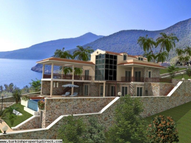 Дом в турции на берегу черного моря купить