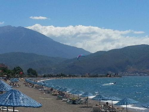 Calis Beach and the Gulf of Fethiye