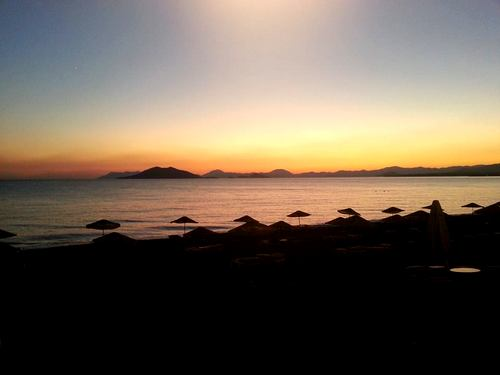 Sunset Calis Beach