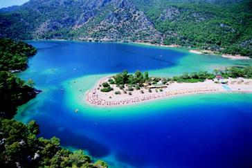 Oludeniz, Blue lagoon National park
